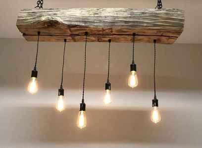 100 Rustic Farmhouse Lighting Ideas On A Budget (78)