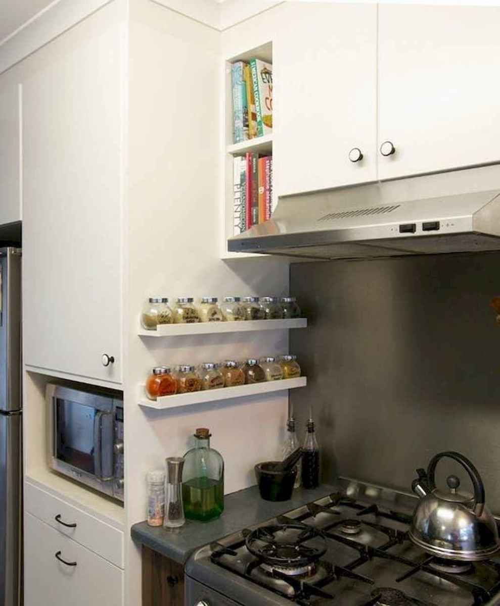 120 DIY Farmhouse Kitchen Rack Organization Ideas (114)