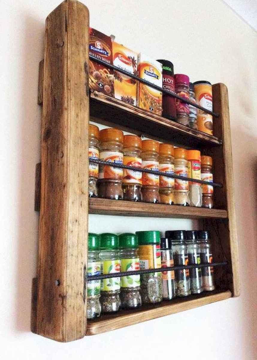 120 DIY Farmhouse Kitchen Rack Organization Ideas (15)