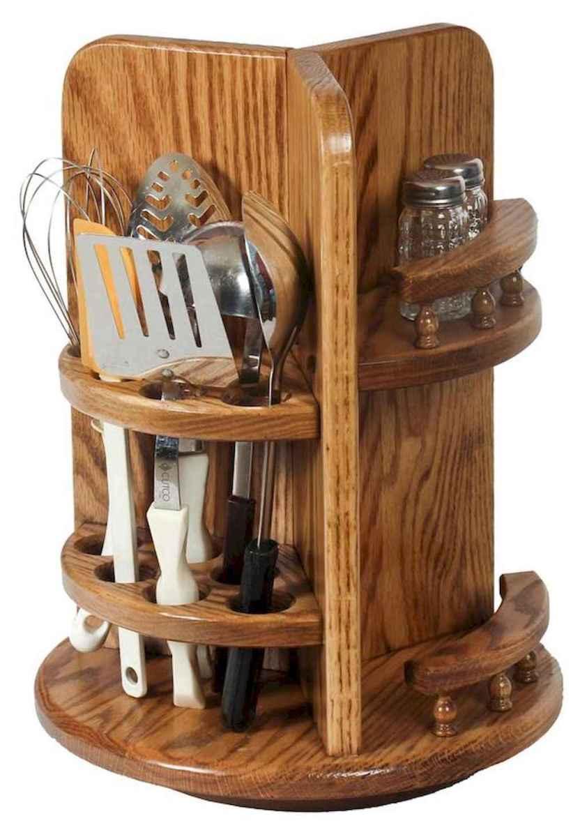 120 DIY Farmhouse Kitchen Rack Organization Ideas (4)