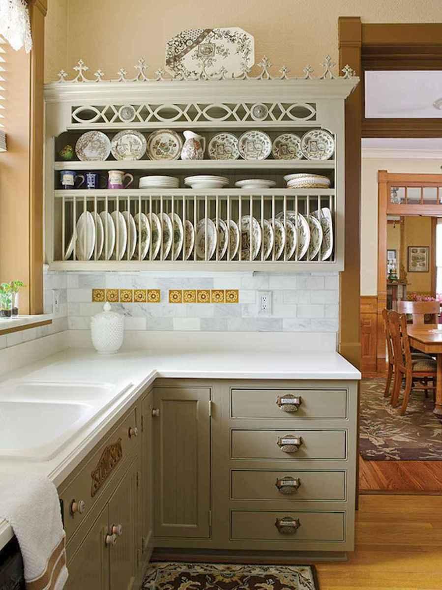 120 DIY Farmhouse Kitchen Rack Organization Ideas (42)