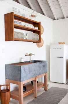 120 DIY Farmhouse Kitchen Rack Organization Ideas (47)
