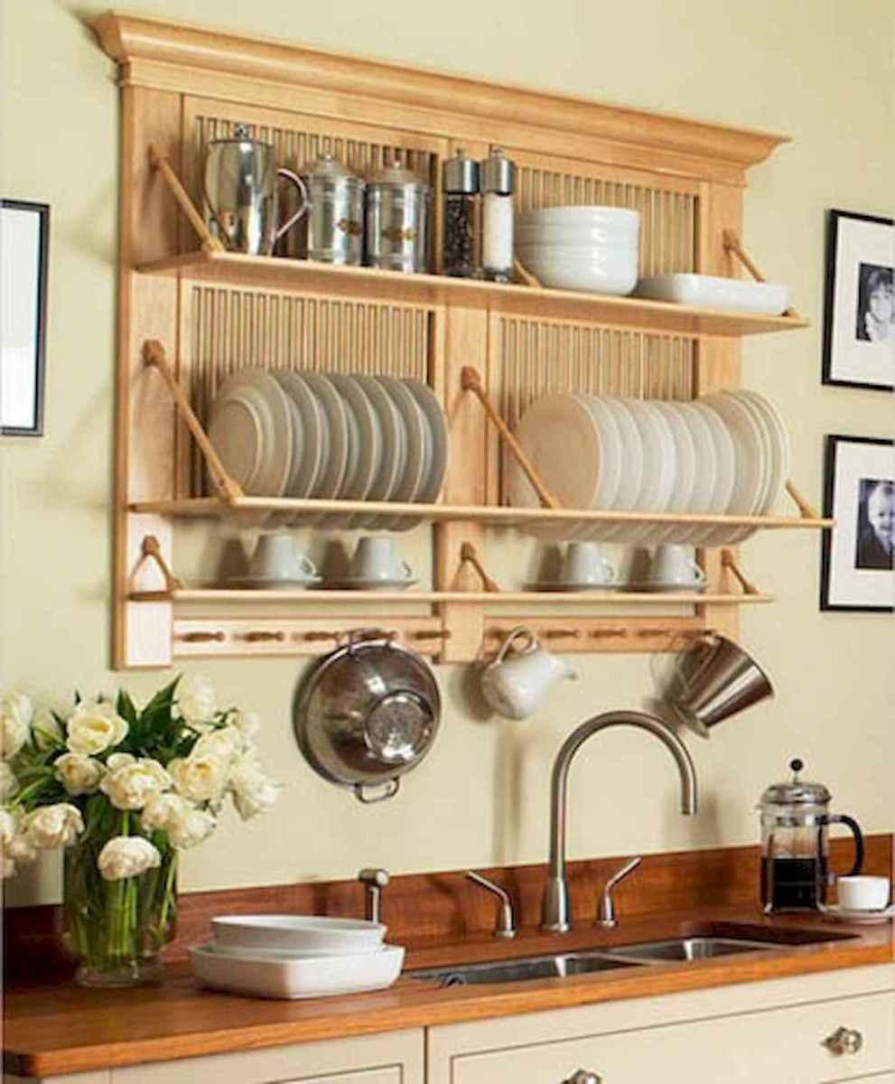 120 DIY Farmhouse Kitchen Rack Organization Ideas (53)