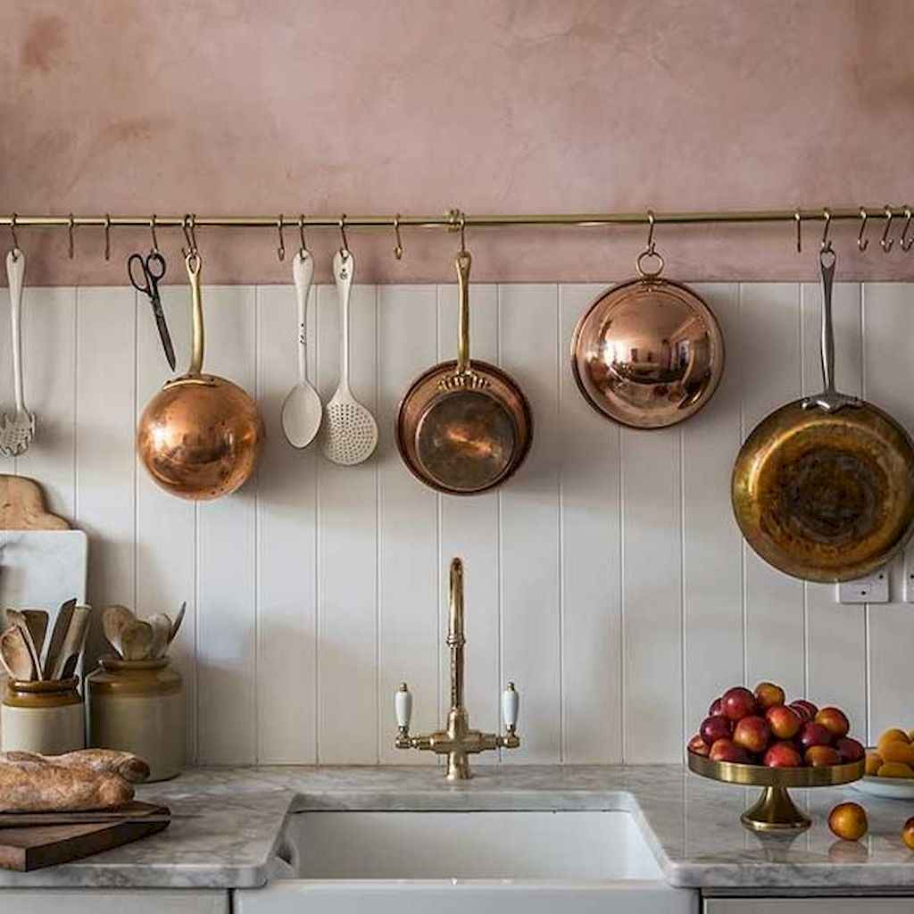 120 DIY Farmhouse Kitchen Rack Organization Ideas (59)