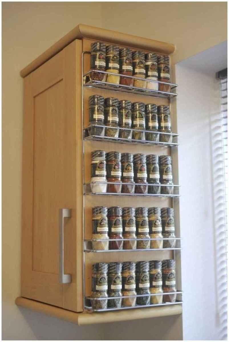120 DIY Farmhouse Kitchen Rack Organization Ideas (64)
