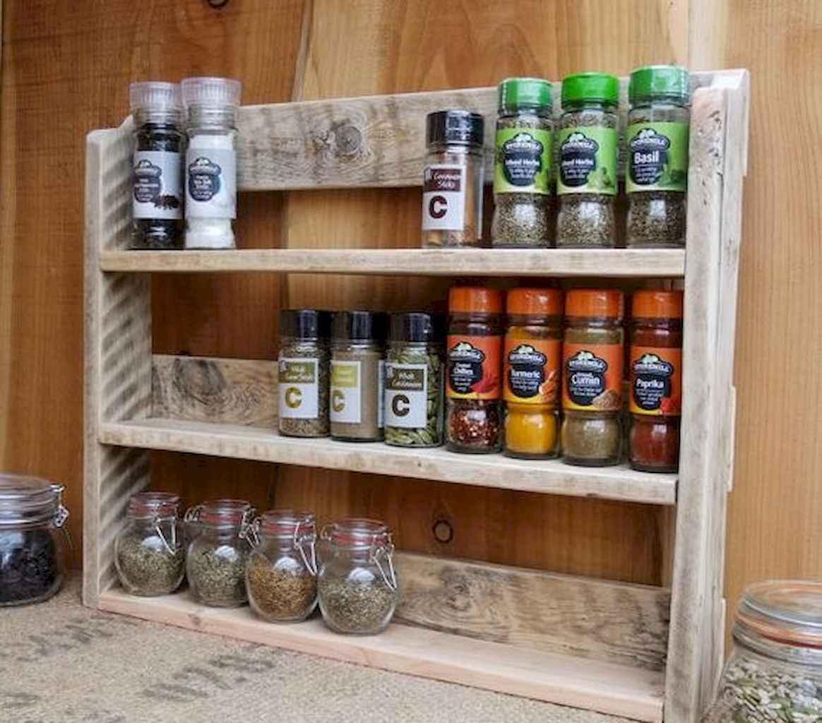 120 DIY Farmhouse Kitchen Rack Organization Ideas (65)