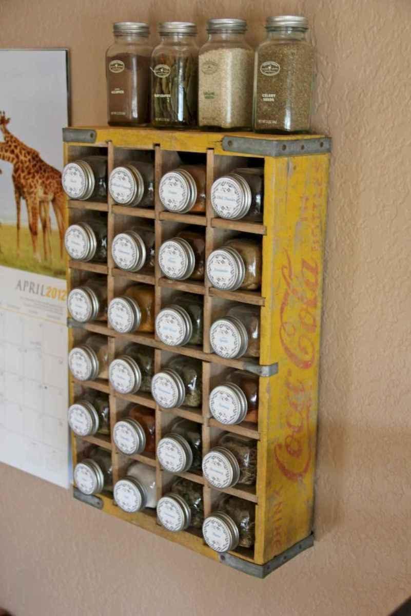 120 DIY Farmhouse Kitchen Rack Organization Ideas (84)
