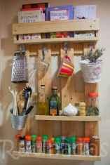 120 DIY Farmhouse Kitchen Rack Organization Ideas (96)