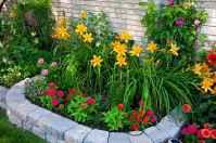 50 cheap and easy flower garden ideas (19)