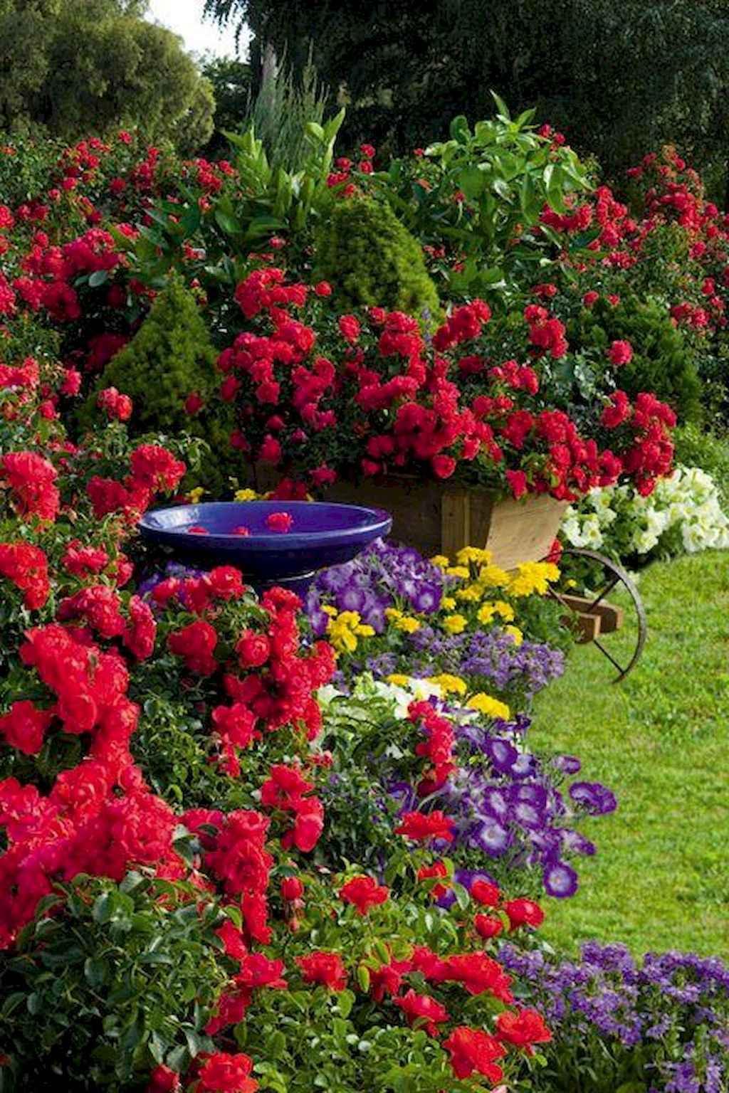 50 cheap and easy flower garden ideas (7)