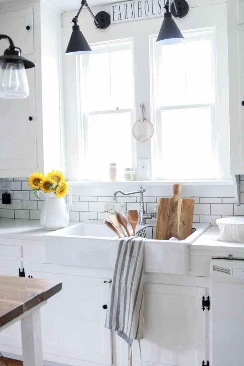 50 farmhouse kitchen decor ideas (47)