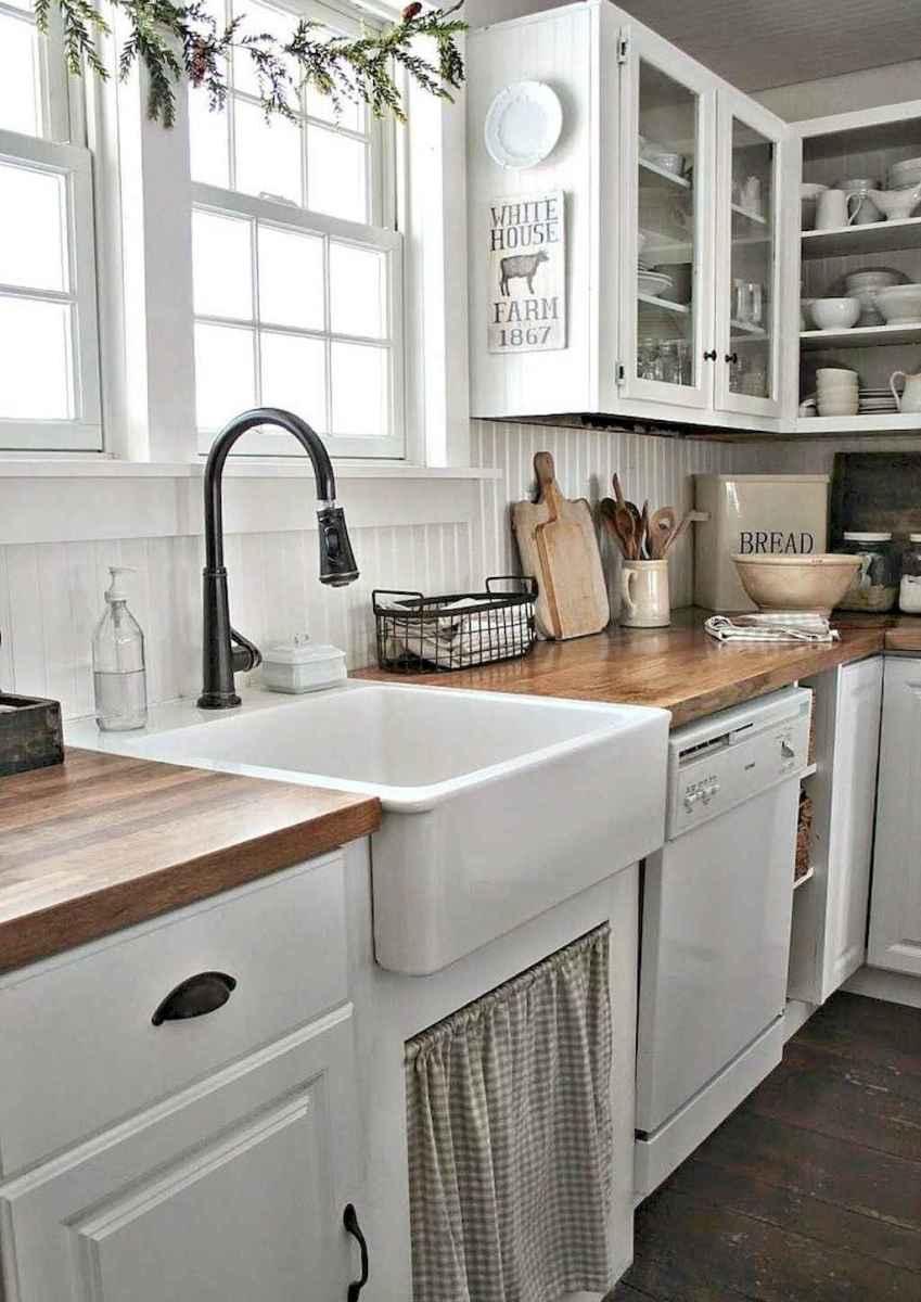 50 farmhouse kitchen decor ideas (60)