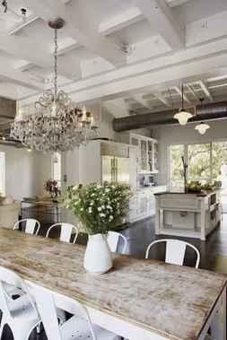 50 Modern Farmhouse Dining Room Decor Ideas (40)