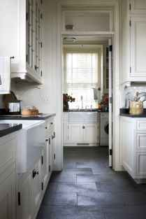 70 Tile Floor Farmhouse Kitchen Decor Ideas (20)