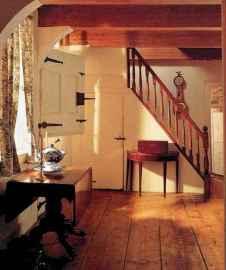 80 Modern Farmhouse Staircase Decor Ideas (19)