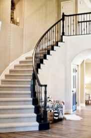 80 Modern Farmhouse Staircase Decor Ideas (32)