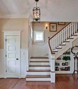 80 Modern Farmhouse Staircase Decor Ideas (44)