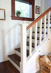 80 Modern Farmhouse Staircase Decor Ideas (55)