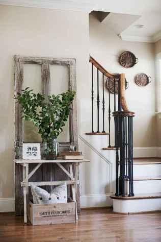 80 Modern Farmhouse Staircase Decor Ideas (73)