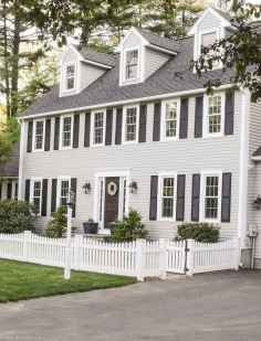 90 Modern American Farmhouse Exterior Landscaping Design (21)