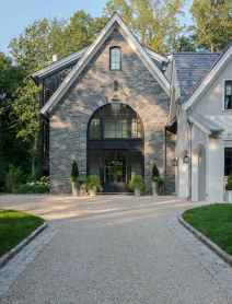 90 Modern American Farmhouse Exterior Landscaping Design (58)