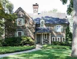 90 Modern American Farmhouse Exterior Landscaping Design (60)