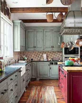 90 Rustic Kitchen Cabinets Farmhouse Style Ideas (20)