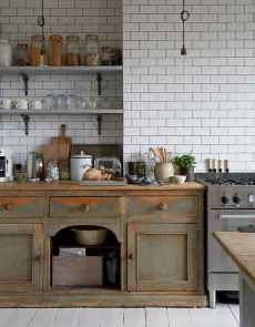 90 Rustic Kitchen Cabinets Farmhouse Style Ideas (69)