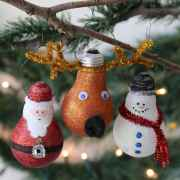 15 Cute Christmas Crafts Ornaments (10)