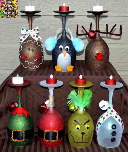 25 Aweome DIY Christmas Decorations Ideas For First Apartment (11)