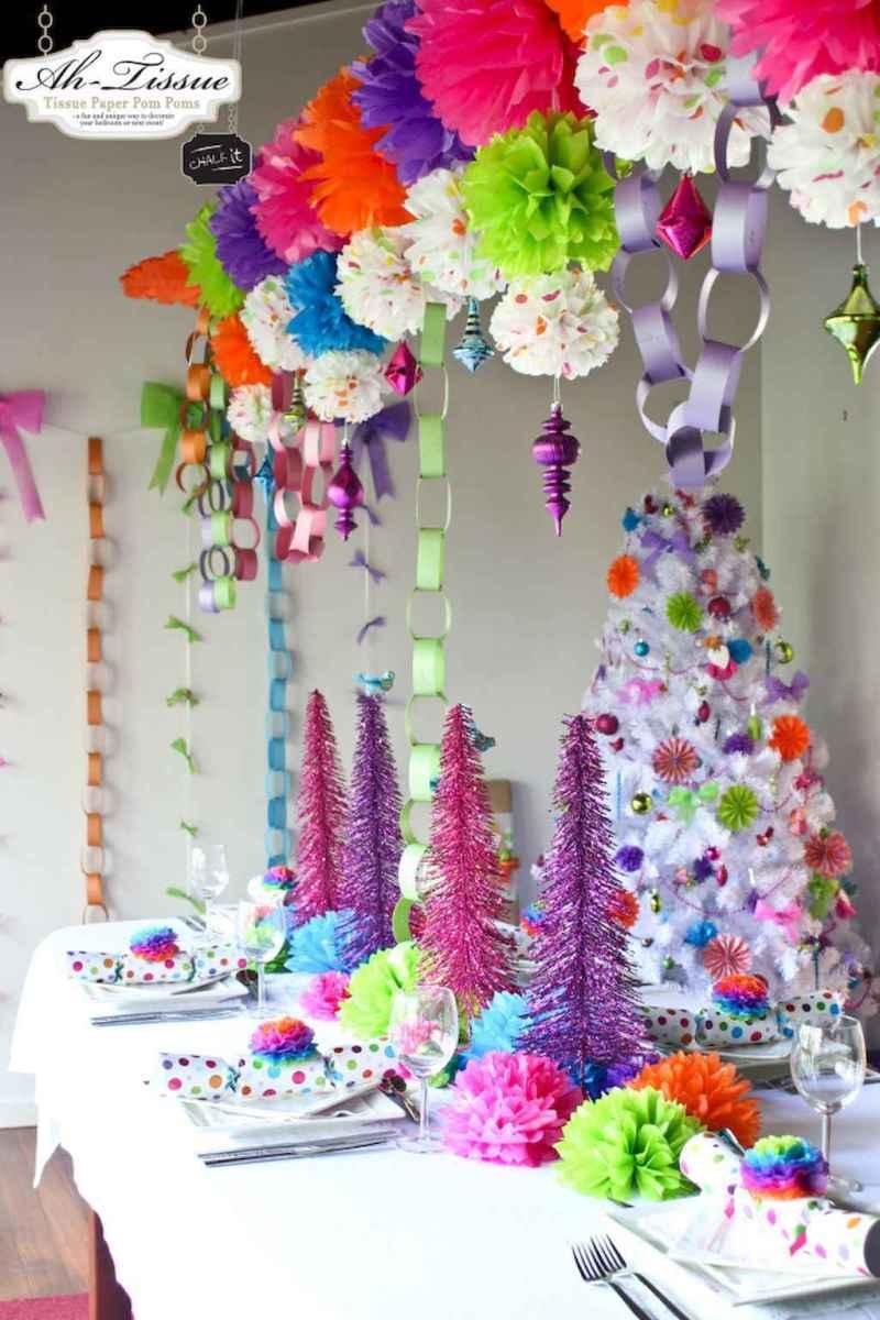 25 Elegant Christmas Party Table Decorations Ideas (14)