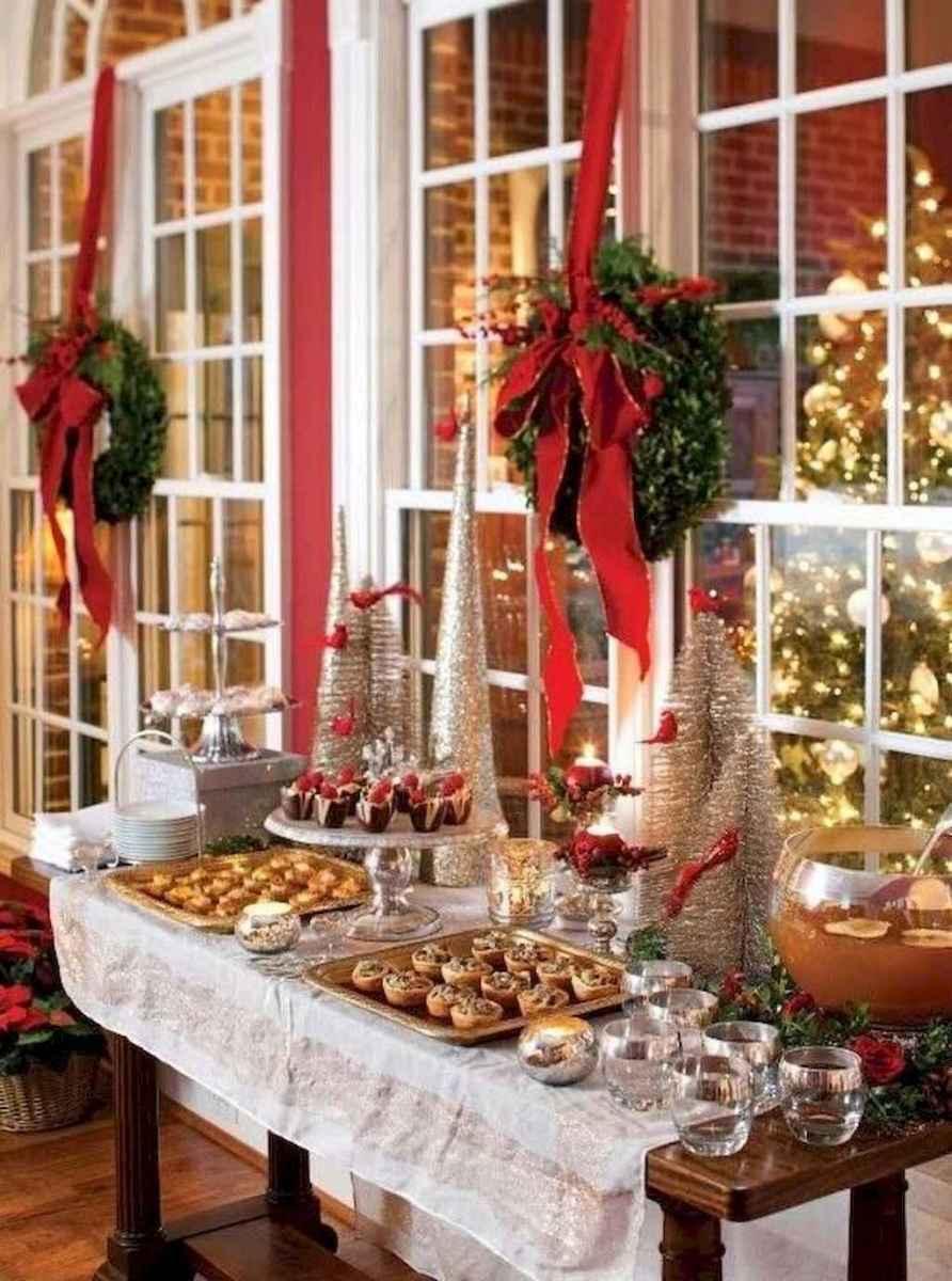 25 Elegant Christmas Party Table Decorations Ideas (18)