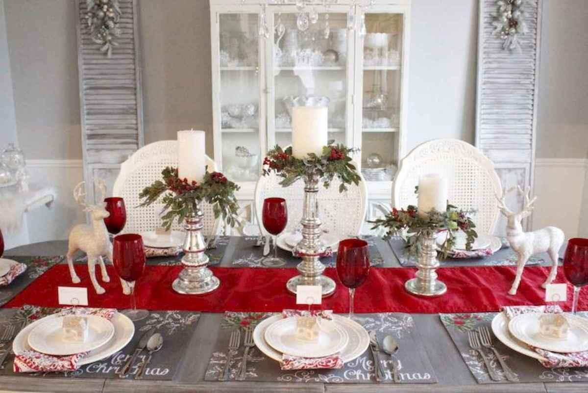 25 Elegant Christmas Party Table Decorations Ideas (2)