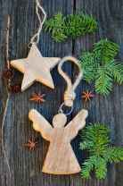 30 Simple Ornaments Christmas Tree Decorations On A Budget (23)