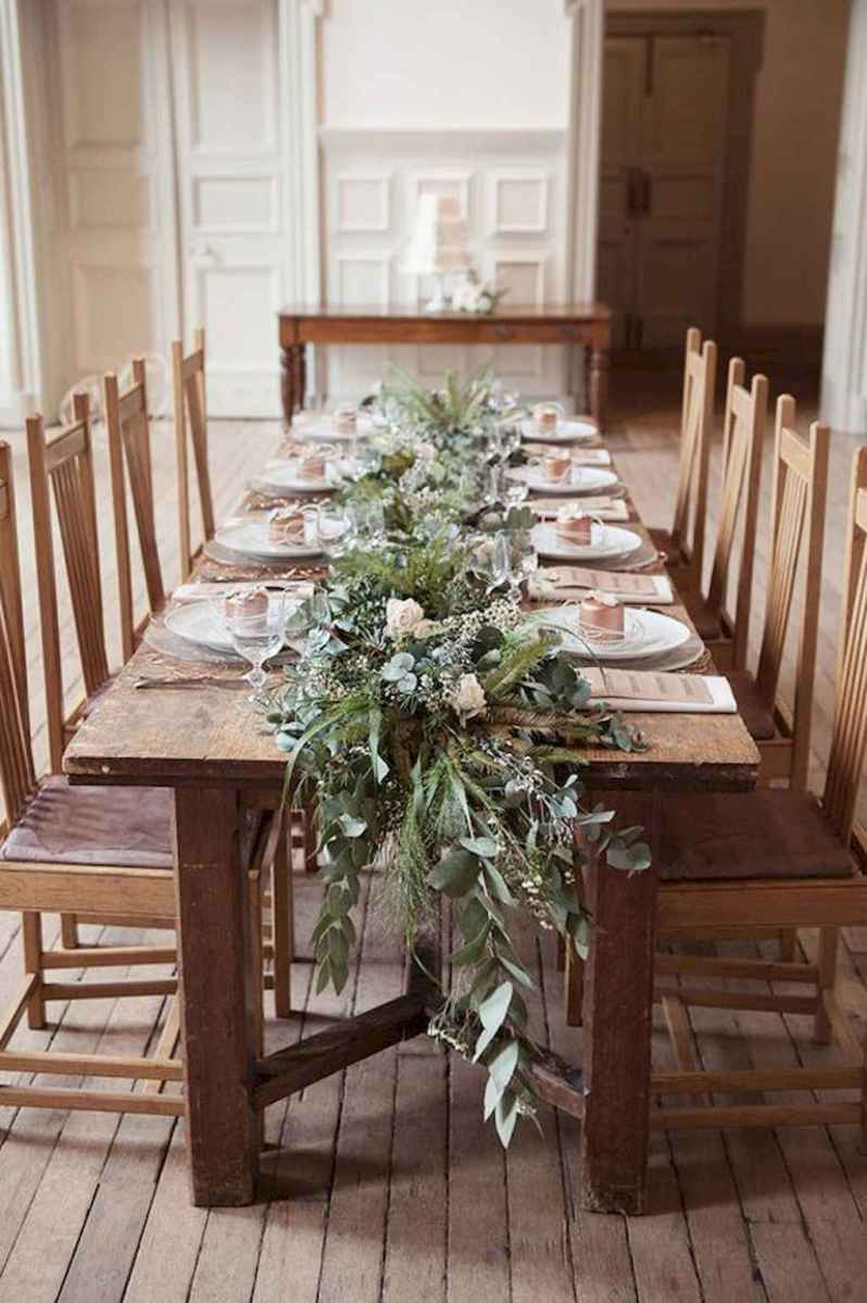 40 Awesome Christmas Dinner Table Decorations Ideas (14)