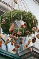 45 Best Christmas Decorations Outdoor Pine Cones Ideas (15)