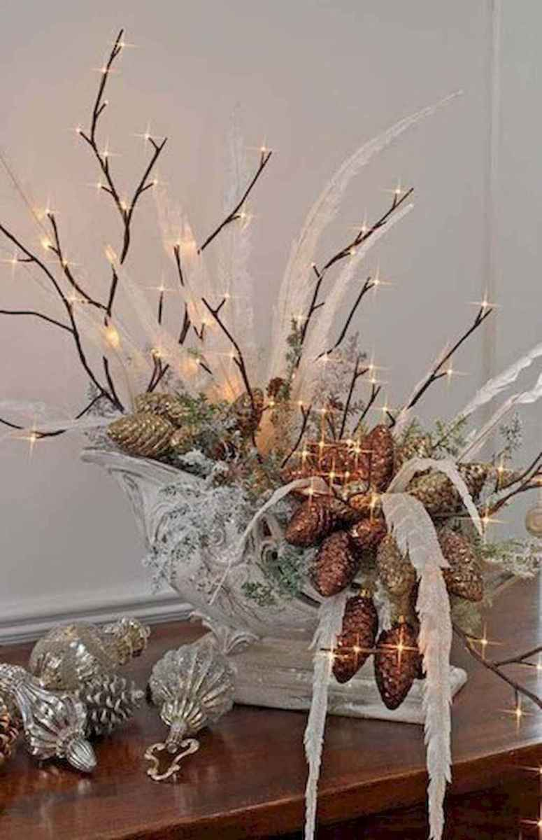 45 Best Christmas Decorations Outdoor Pine Cones Ideas (18)