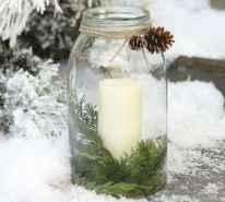 45 Best Christmas Decorations Outdoor Pine Cones Ideas (4)
