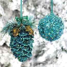 45 Best Christmas Decorations Outdoor Pine Cones Ideas (6)