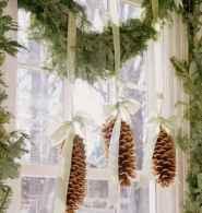 45 Best Christmas Decorations Outdoor Pine Cones Ideas (8)
