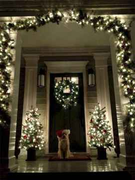 50 Simple DIY Christmas Door Decorations For Home And School (49)