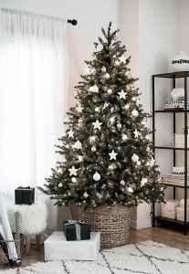 50 Stunning Modern Christmas Tree Decorations (31)
