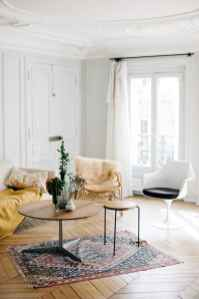 111 Beautiful Parisian Chic Apartment Decor Ideas (38)