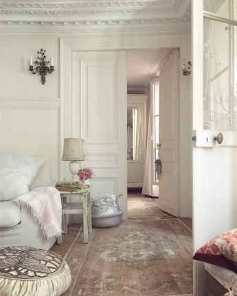 111 Beautiful Parisian Chic Apartment Decor Ideas (51)