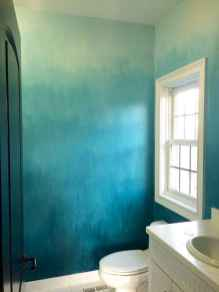 22 DIY Painted Ombre Wall For Apsrtment Decor Ideas (13)
