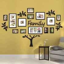 40 DIY Family Photos Display Ideas For Apartment Decor (29)