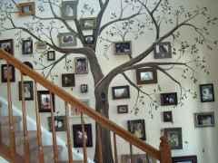 40 DIY Family Photos Display Ideas For Apartment Decor (4)