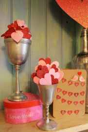 40 Romantic Valentines Decorations Dollar Tree Ideas On A Budget (21)