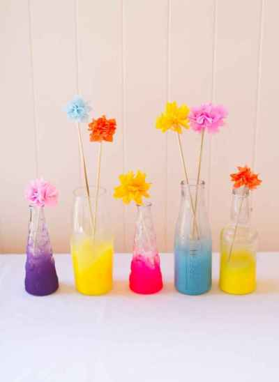 44 DIY Painted Ombre Vases Crafts Ideas On A BUdget (39)