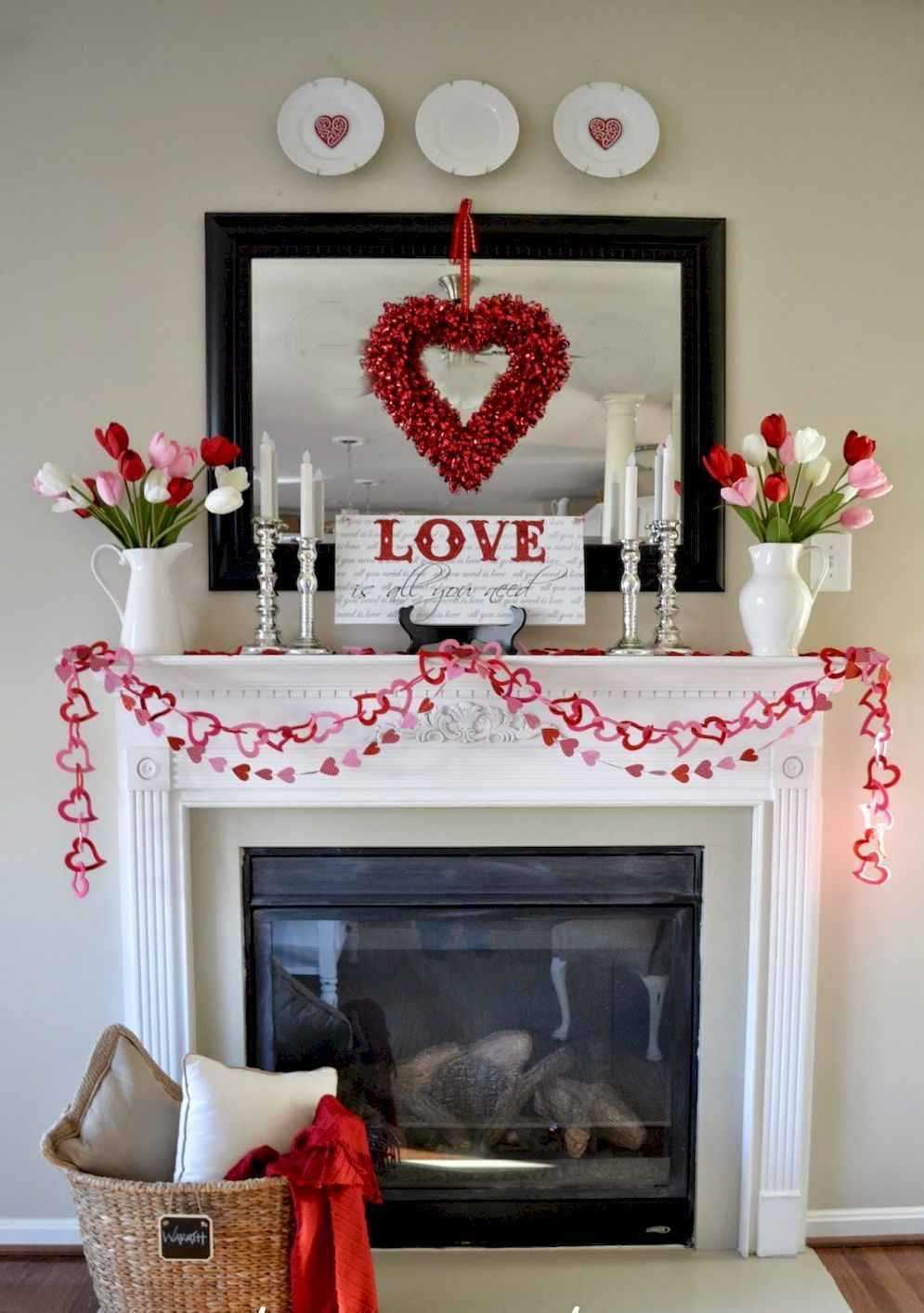 44 Romantic Valentines Party Decor Ideas (1)